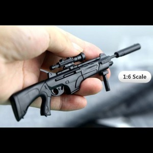 Image 5 - Масштаб 1:6, 1/6, 12 дюймовые экшн фигурки, строительная винтовка, модель оружия для 1/100 мг, модель Bandai Gundam, детские игрушки солдаты HYT0324
