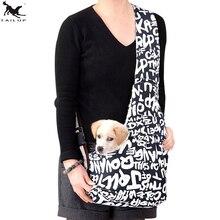 [TAILUP]Pet Dog Carrier Bag Travel Shoulder BagPuppy Dog Carrier Slings Bag,Pet Cat Shoulder Carry bag Pets SupplierPP010Navy