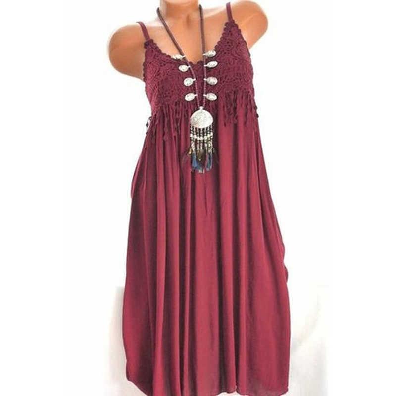 5XL сексуальное женское элегантное платье на бретельках, женское однотонное кружевное сексуальное длинное платье, летнее платье, распродажа, большие размеры, платье без бретелек