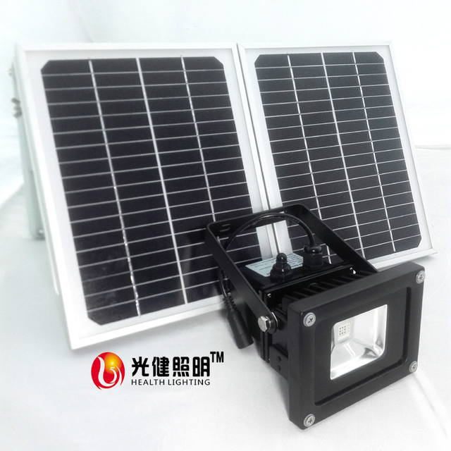 10w Solar Grow Light Full Spectrum 410 730nm For Outerdoor Plants And Flower Phrase Very