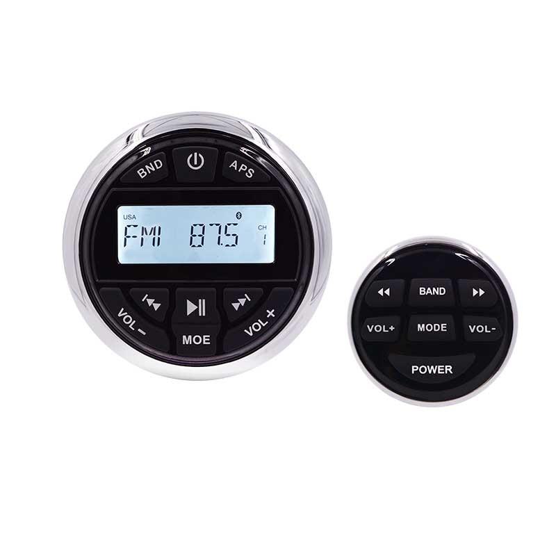 HASDA Marine Stereo Barca Audio Bluetooth Radio FM AM USB Lettore MP3 per Auto Moto ATV UTV + Ricevitore Via Cavo a distanza di Controllo