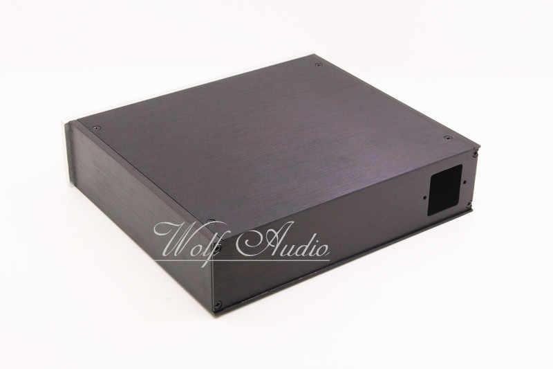 DIY D-2205 усилитель корпус полный Алюминий HiFi усилитель ЦАП шасси коробка premplifier случае BZ2205A