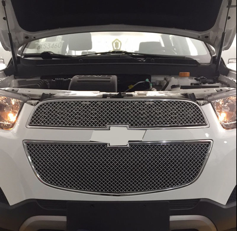 2012 Chevy Captiva Accessories: For Chevrolet Captiva 2012 2014 Honeycomb Car Grille