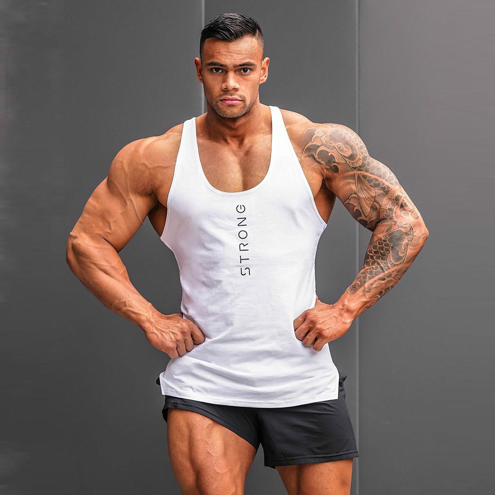 New 2019 Mens Sleeveless Summer Men   Tank     Tops   Clothing Bodybuilding Undershirt Casual Fitness   Tank     Tops   Tees