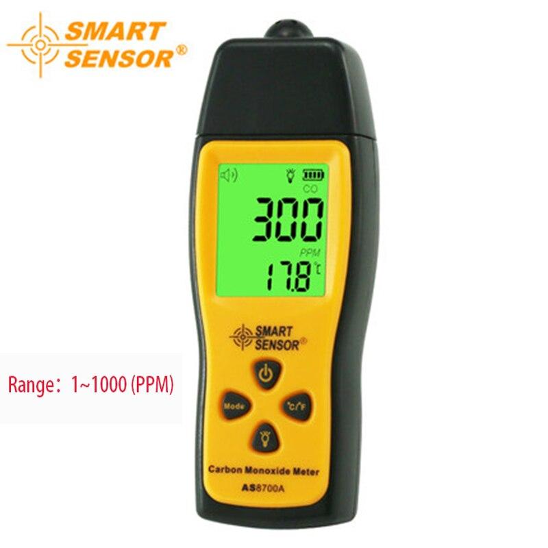 Handheld carbon monoxide detector gas analyzer portable CO gas leak detector Alarm Buzzer