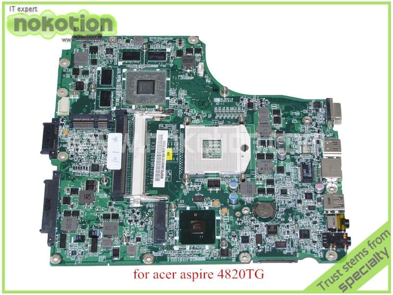 DA0ZQ1MB8D0 REV D MBPVL06001 MB.PVL06.001 For acer aspire 4820 4820TG motherboard HM55 ATI hd5650m