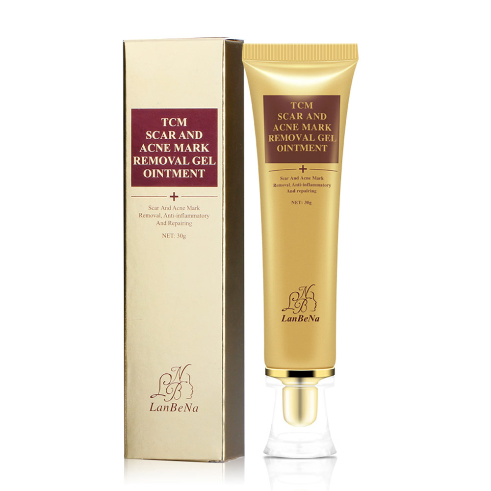 Ginseng Extract Scar Removal Gel Acne Treatment Shrink Pores Gel Bleaching Creams Whitening Moisturizing Face Day