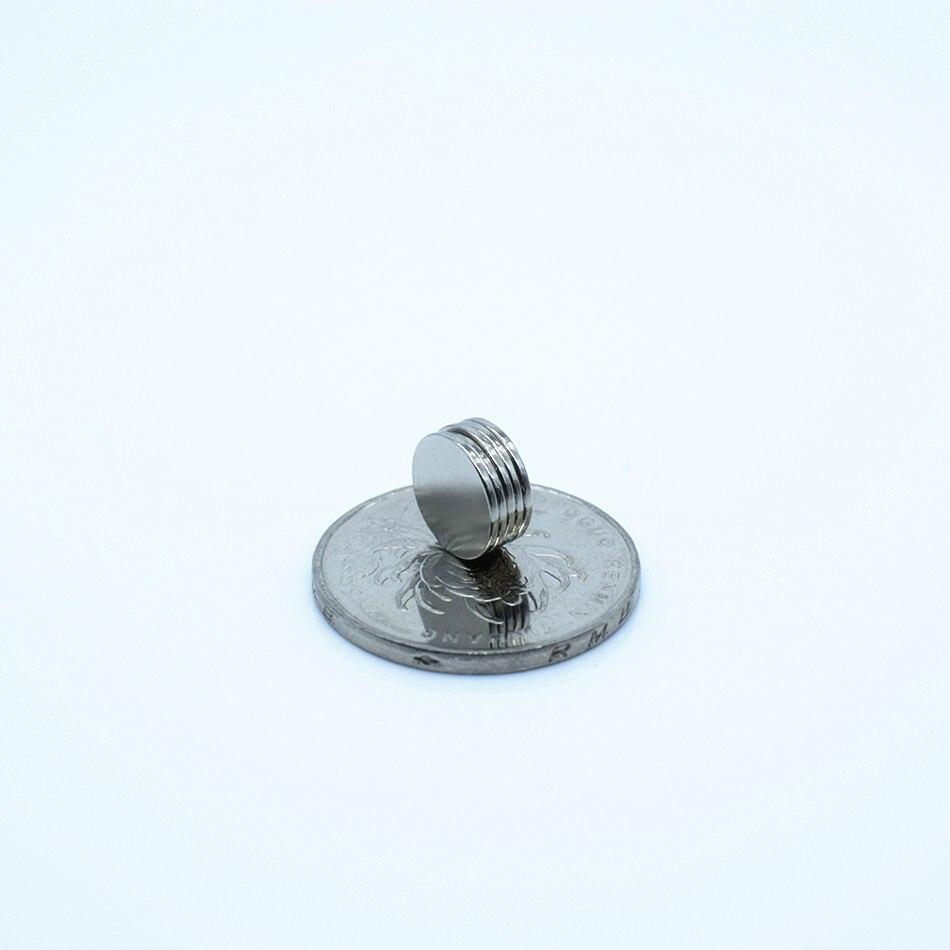 100 шт. неодимовый магнит 10 х 1 мм маленький круглый сильный постоянных магнитов 10*1 Галлий холодильник динамик Электромагнит магнитная