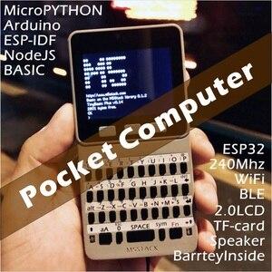 Image 4 - M5Stack yeni teklif! ESP32 açık kaynak yüz cep bilgisayar klavye/PyGamer/hesap makinesi Micropython için Arduino