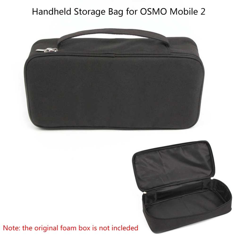 JointVictory Portable Suitcase Handheld Storage Bag Carrying Case for DJI OSMO Mobile 2 Handheld Gimbal Camera