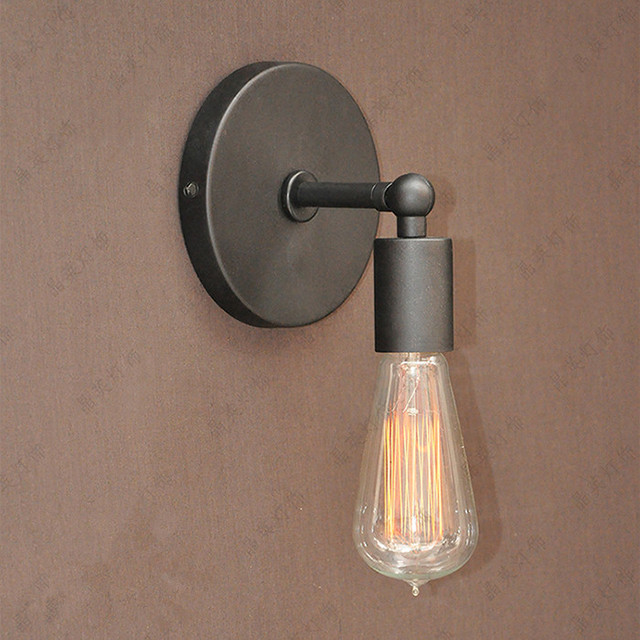 Loft Industrial Wall Lamps Vintage Wall Light Wall Sconces 1 Edison ...