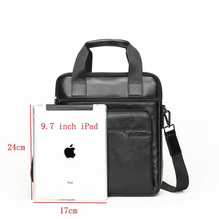 HTB1tcy4ChSYBuNjSsphq6zGvVXaW MEIGARDASS Genuine Leather Business Briefcase Men Travel Shoulder Messenger Bags Male Document Handbags Laptop Computer Bag