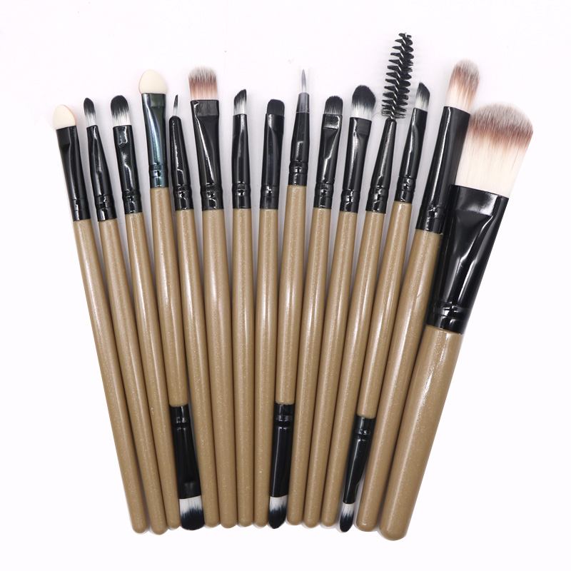 2Set Professional Makeup Brush Kit Eye Shadow Foundation Eyebrow Eyeliner Eyelash Lip Brush Powder Brushes Makeup Brushes Tools miss gorgeous makeup brushes set powder foundation steel eyelashes comb combination brush eye shadow eyelash eyeliner eyebrow