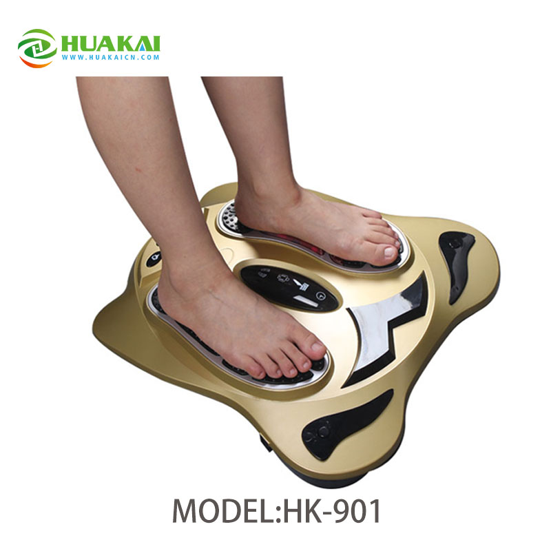 Free Shipping Biology Electromagnetic Wave Foot Massager /Foot Therapy Device electric antistress therapy rollers shiatsu kneading foot legs arms massager vibrator foot massage machine foot care device hot