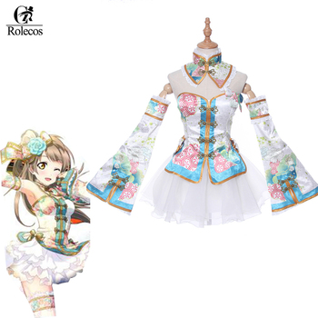 ROLECOS LoveLive Cosplay Costumes Kotori Minami Costumes Tojo Nozomi Ayase Eli Cosplay Cheongsam Love Live Custome Size Made