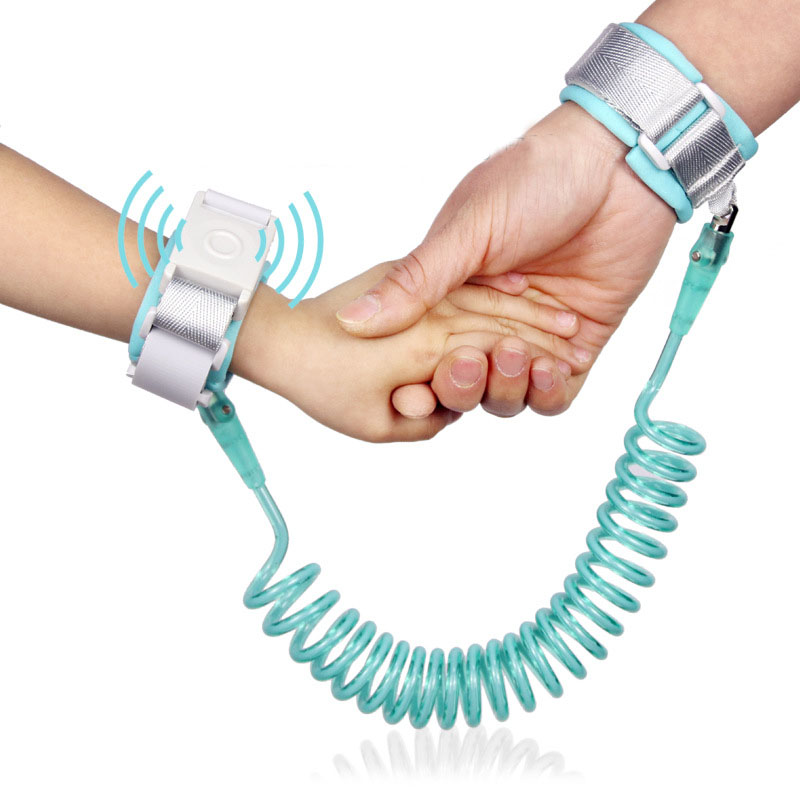 Adjustable Safety Harness Child Anti Lose Wrist Link For Baby Strap Rope Outdoor Walking Hand Belt Band Anti-lost Wristband Kids
