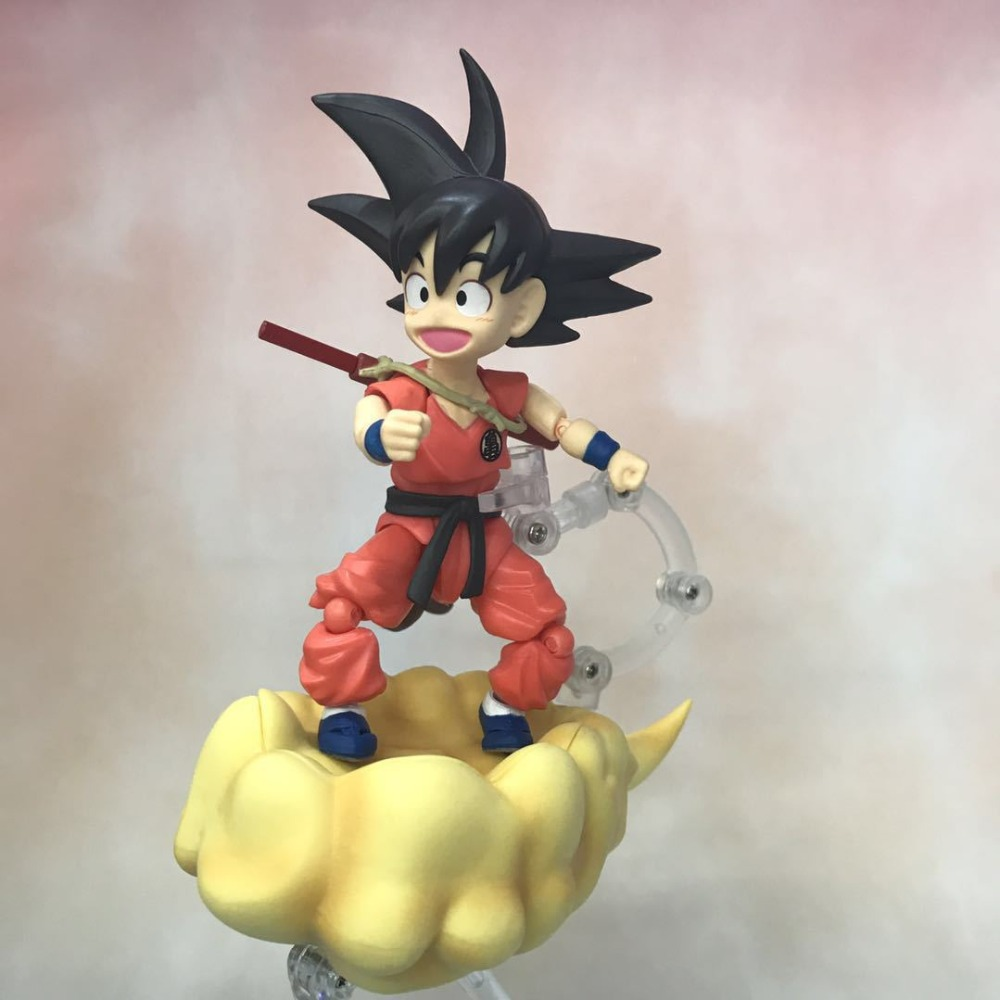 NEW 12cm Dragon Ball childhood Son Goku movable Action figure toys doll collection Christmas gift with boxNEW 12cm Dragon Ball childhood Son Goku movable Action figure toys doll collection Christmas gift with box