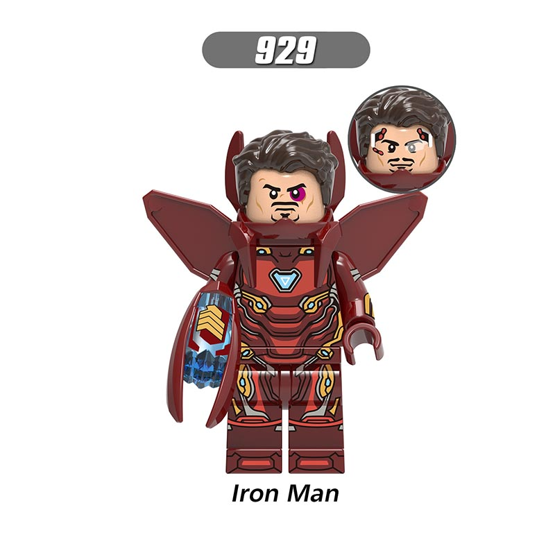 Single Sale LegoINGlys Super Heroes  Avengers Figures Proxima Midnight Hawkeye Iron Man Building Blocks Toys Children Gift X0215