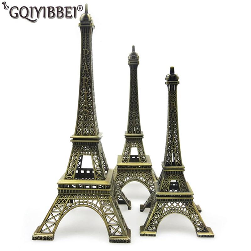 62 cm 미술 공예 청동 파리 에펠 탑 모델 장식품 입상 아연 합금 동상 여행 기념품 홈 데코레이션-에서피규어 & 미니어처부터 홈 & 가든 의  그룹 1