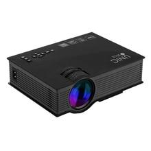 UNIC UC46 Pico Proyector LED Home Cinema Proyector Soporte USB SD AV HDMI Full HD 3D Proyector Multimedia