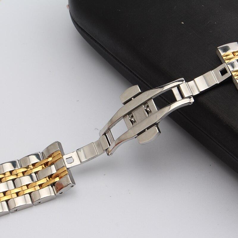 Náramek z nerezavějící oceli s pevným kovovým náramkem - Příslušenství k hodinkám - Fotografie 6
