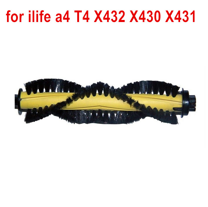 Main Roller Brush for ILIFE A4 Robot Vacuum Cleaner Parts chuwi ilife a4 T4 X432 X430 roller main brush replacement accessories
