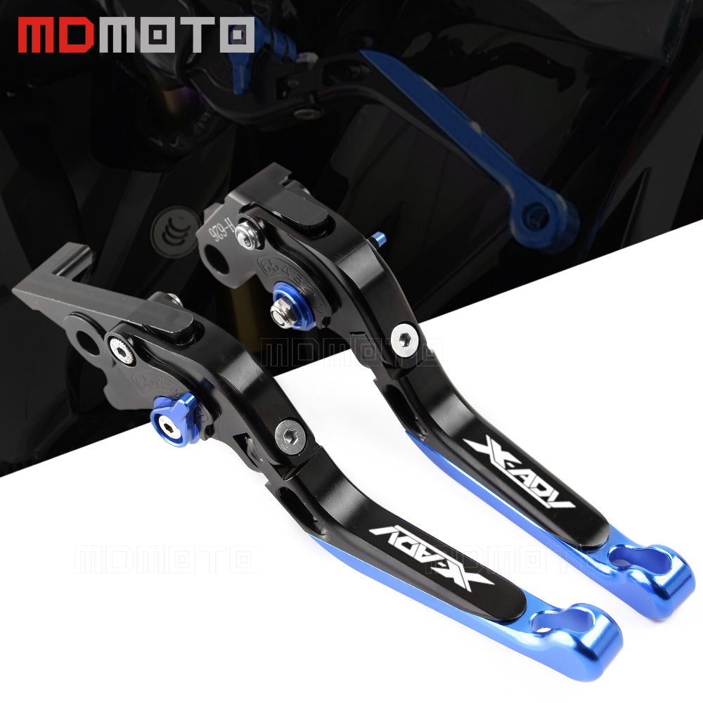 CNC Folding Extendable Motorcycle Brake Clutch Levers For Honda XADV 750 2017 2018 X ADV Brake Lever Clutch handle accessories off road motorcycle parts modified high strength anti fall folding brake handle clutch brake handle