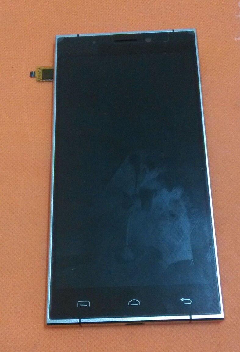 Verwendet Original LCD Display Screen + Touch Screen + Rahmen für Doogee F5 4g LTE 5,5