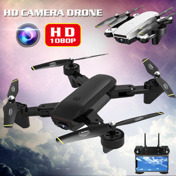 Professional Intelligent Foldable Drone Wifi FPV 1080P HD Wide-angle Optical Flow Dual Camera Follow Me Altitude Hold Quadcopter
