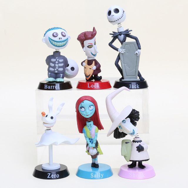 The nightmare before christmas 5 7cm wacky wobber bobble heads jack the nightmare before christmas 5 7cm wacky wobber bobble heads jack sally zero barrel publicscrutiny Images