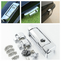 Chrome Tour Pak Pack Trunk Latch for Harley Touring Glide FLHT FLHX Road King Electra Street 14 18 17 16 Motorcycle Accessories