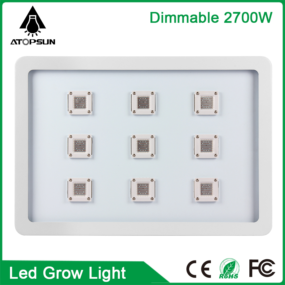 1pcs Full Spectrum LED Grow Light 2700W Lamp for Flower Plant Growing Indoor Grow Lights Garden Greenhouse Hydroponic systems max 4 cob 400w led grow light full spectrum led plant growing lamp indoor greenhouse hydroponic systems