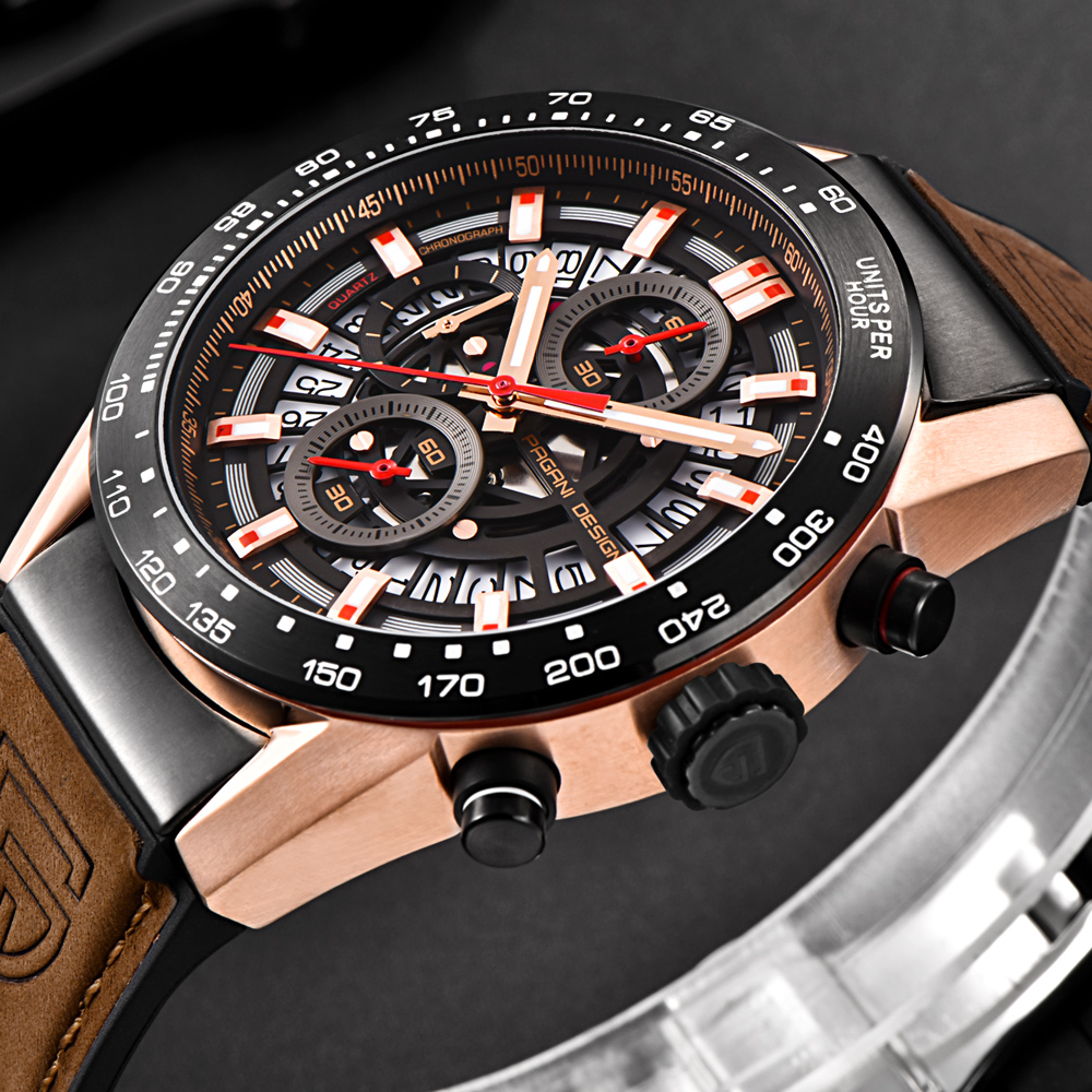 Relogios Masculino 2018 New PAGANI DESIGN Top Luxury Brand Sports Chronograph Mens Watches Waterproof Quartz Watches Clock saatRelogios Masculino 2018 New PAGANI DESIGN Top Luxury Brand Sports Chronograph Mens Watches Waterproof Quartz Watches Clock saat