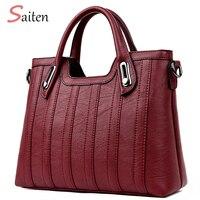 Женские сумки известных брендов Женская сумка 2018 новые сумки на плечо дизайнерские сумки высокого качества PU женская сумка Bolsas Sac