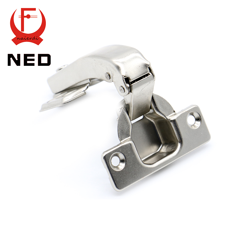 Brand NED 90 Degree Corner Fold Cabinet Door Hinges 90 Angle Hinge Hardware For Home Kitchen Bathroom Cupboard With Screws 2pcs 90 degree concealed hinges cabinet cupboard furniture hinges bridge shaped door hinge with screws diy hardware tools mayitr