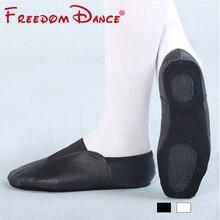 Adultes Chaussures de Sport En Cuir Véritable Slip-On Gym Pratique Chaussures Pour hommes Et Femmes Fitness Yoga Jazz Danse Chaussures Talon Plat Sneakers