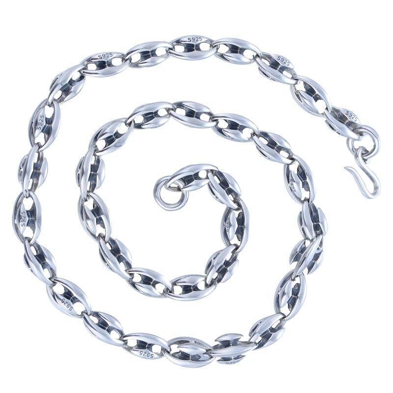 Collier de marque de mode 925 en argent Sterling collier pendentifs fabrication de bijoux accessoires de bricolage convient à la marque pendentifs charme XLT001H20