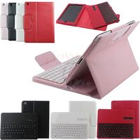 Hot Sale Colorful Wireless Bluetooth ABS Plastic Detachable Keyboard Case Cover With Kickstand For Apple IPad