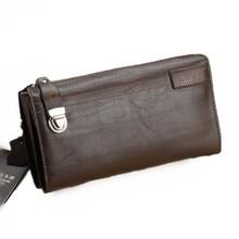 Vintage Genuine Leather Men Wallet Bolsos Men Clutch Bags Cowhide font b Handbags b font Men