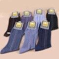 2016 Бесплатная доставка полосой носки мужские носки бизнес Прозрачным гей мужские носки дезодорант носки Дышащие мужчин Сексуальные чулки