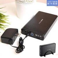 ACASIS BA 06US USB 3.0 HDD Enclosure Support 6TB SATA Interface 3.5 inch Hard Drive Case aluminum alloy Mobile hard disk Box