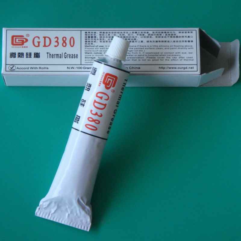 GD380 Wärmeleitende Fettpaste Silikon Gips Wärmeleitpaste - Computerkomponenten - Foto 2