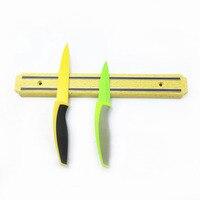 B-продажи 32.5 см * 4.5 см Магнитная Ножи крючок, магнитная Ножи держатель, магнитная Ножи полосы, ножи стойку Газа