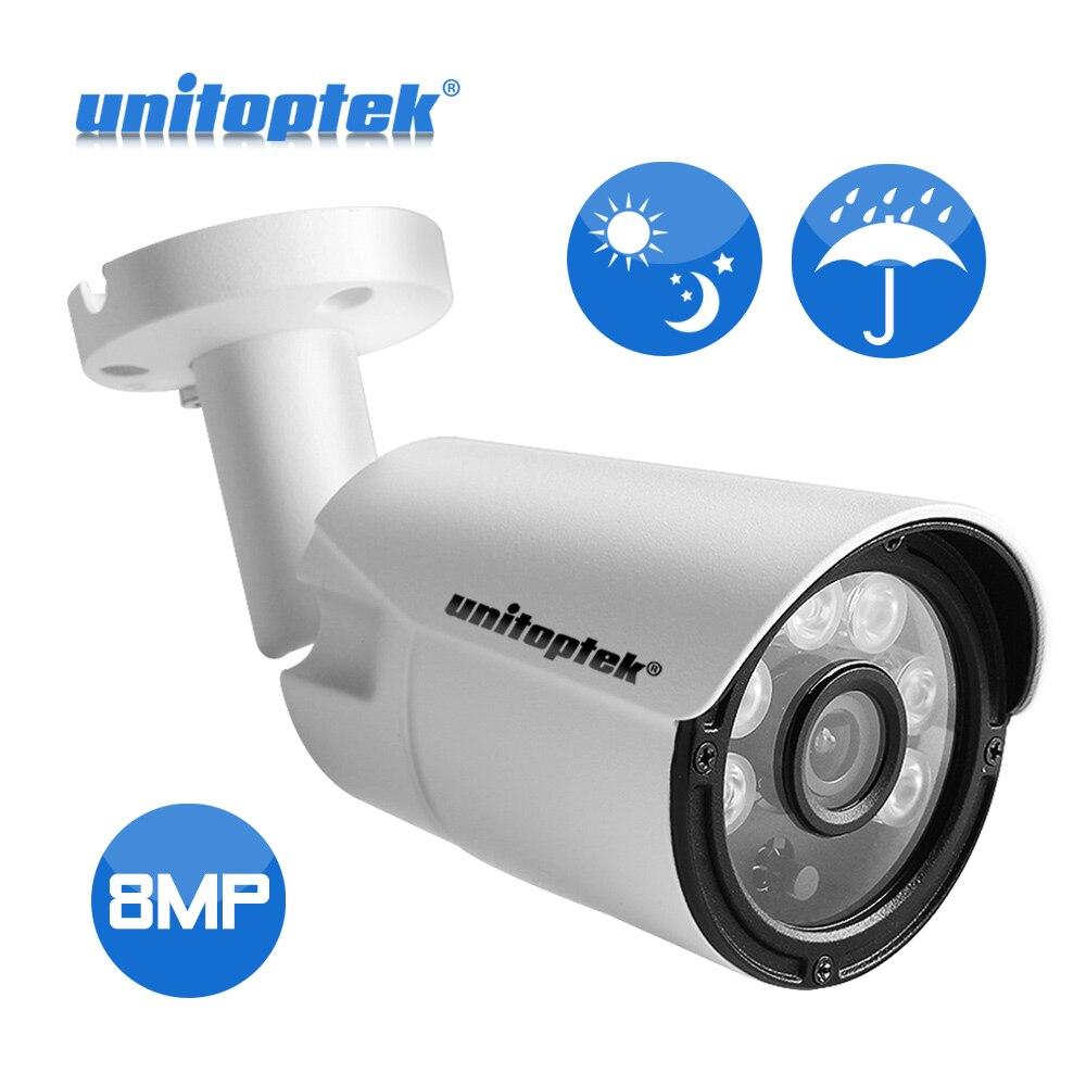 H.265 4K 8MP 3840*2160 Network IP Camera Outdoor Waterproof Surveillance 20M Night Vision Bullet CCTV Cameras Onvif Metal XMEye