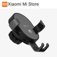 Xiao mi mi 70mai Qi Drahtlose auto Ladegerät Telefon Halter 7,5 W Schnelle Lade Für iPhone XS Max XR 10W Telefon auto ladegerät für Xiao mi 9