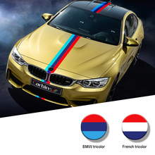 Car Accessories Racing Stripe Car Sticker Car Modeling Motorcycle Accessories for BMW E46 E90 E60 E39 F30 E36 F10 E53  E38 E34