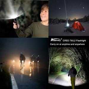 Image 5 - Super Bright LEDไฟฉายXP L V6 Beadกันน้ำLEDไฟฉายZoomable 5โหมดCamping Light 18650