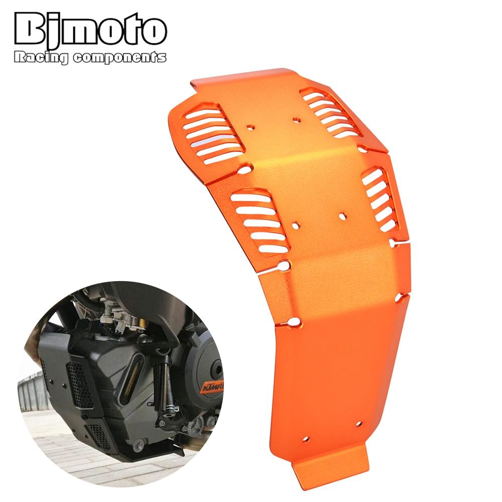 Bjmoto Glide Skid Plate Guard For KTM 1050 1190 1190 R Adventure 2013-2016 1290 Super Adventure 2015-2016 Engine Protector Cover цены