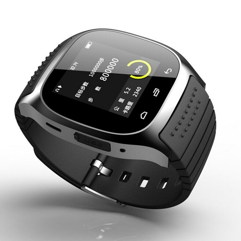 Vrući Smart Bluetooth sat M26 s LED display barometar Alitmeter Mp3 - Pametna elektronika - Foto 2