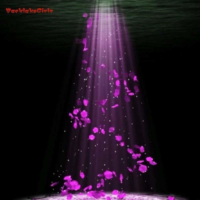 Fashion 2018 New Wholesale 1000pcs/lot Flowers Polyester Wedding Decorations Wedding Rose Petals Patal Flower